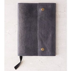 New - Vintage Inspired Snap Leather Notebook